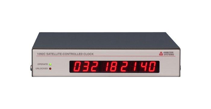 Model 1092A/B/C GPS Satellite-Controlled Clock (500 ns